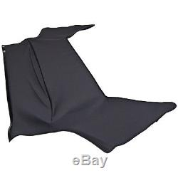 BMW Z4 Headliner for Convertible Top in Ribbed Twill Charcoal with Pad