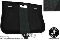 Black Diamond Stitching Roof Headlining Luxe Suede Cover For Audi Tt Mk2 06-14