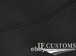 Black Stitch D Grey Luxe Suede Headliner Sun Roof Cover For Bmw E30 81-92 Sedan