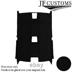Black Stitch Luxe Suede Headliner Non Sunroof Cover For Bmw E92 Coupe 06-13 Jf2