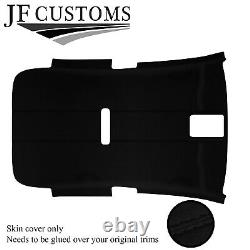 Black Stitch Luxe-suede Non Sunroof Headliner For Vw Golf Mk6 09-14
