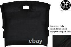 Black Stitch Roof Headlining Liner Luxe Suede Cover For Toyota Celica Mk7 99-05