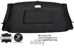 Black Stitch Roof Headlining Luxe Suede Cover For Mercedes W639 Vito Viano 04-09