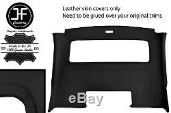Black Stitch Roof Panel Headlining Real Leather Cover For Porsche 928 S2 S4 Jf1