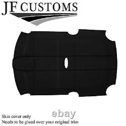 Black Stitch Suede Roof Lining Headliner Cover For Bmw Mini R50 R53 01-06