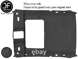 Black Stitch Sun Roof Roof Headlining Dark Grey Luxe Cover For Bmw 3 E36 Coupe