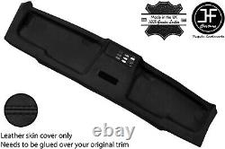 Black Stitch Top Roof Headliner Panel Leather Cover For Bmw E30 81-92 Coupe
