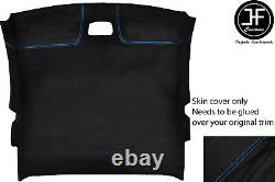 Blue Stitch Roof Headlining Liner Luxe Suede Cover For Toyota Celica Mk7 99-05