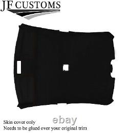 Brown Stitch Roof Lining Headlining Luxe Suede Cover For Bmw E46 99-05 Sedan
