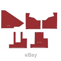 CW2851 New Tractor Red Cab Kit with Headliner for AGCO White 2-105 2-150 2-85