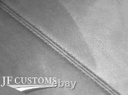 Grey Stitch Roof Headlining Liner L Grey Luxe Suede Cover For Bmw E36 Coupe