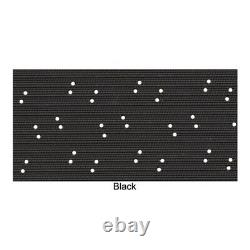 Headliner 4 Bow Perforated Black for 1972-74 Dodge Charger Hardtop