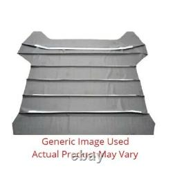 Headliner 5 Bow Perforated Black for 1966 Plymouth Sport Fury Hardtop