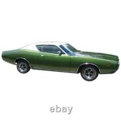 Headliner 6 Bow Perforated Green for 1971 Dodge Charger Hardtop