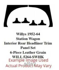 Headliner for 1946-1964 Willys Wagon ABS Plastic