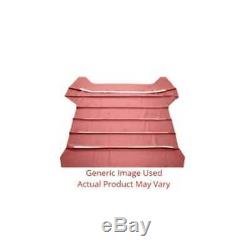 Headliner for 1955 Buick Century Hardtop Non Perforated Medium Red