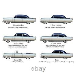 Headliner for 1955 Buick Century Hardtop Non Perforated White