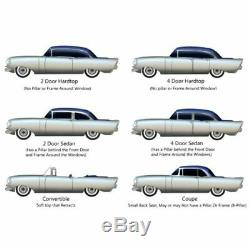 Headliner for 1957-58 Buick Caballero Hardtop Station Wagon Perforated White
