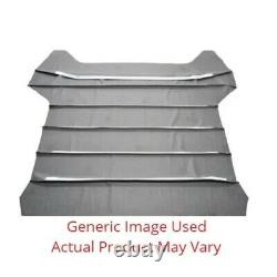 Headliner for 1964-66 Plymouth Barracuda Fastback Non Perforated Black
