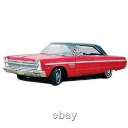 Headliner for 1965 Plymouth Sport Fury Hardtop Perforated Black