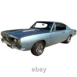 Headliner for 1967-69 Plymouth Barracuda Fastback Perforated White