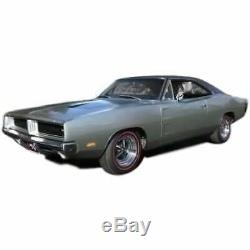 Headliner for 1968-70 Dodge Charger Hardtop Non Perforated Black