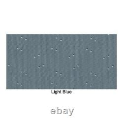 Headliner for 1971-73 Buick Riviera Hardtop Perforated Light Blue