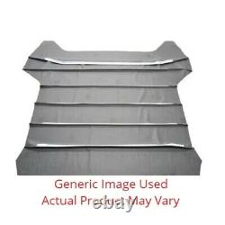 Headliner for 1972-74 Plymouth Road Runner GTX Hardtop Non Perforated White