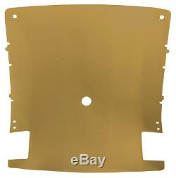 Headliner for 1974-81 Pontiac, Chevrolet Firebird, Camaro 2-Door Coupe Buckskin