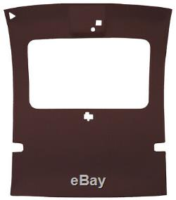 Headliner for 1978-1988 GM Cars 2-Door Coupe with Factory Sunroof Claret