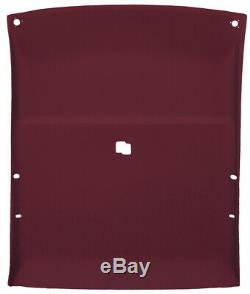 Headliner for 1978-88 GM Cars 2DR Coupe withSolid Hard Top roof withMap Light Garnet