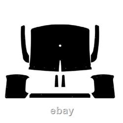 Headliner for 57-60 Dodge Truck ABS Plastic withSail Quarter Panels Small Window