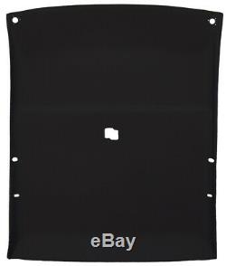 Headliner for 78-88 GM Cars 2 Door Coupe withSolid Hard Top roof withMap Light Black