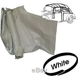 Headliner kit white perforated with door post covers for