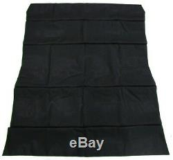 NEW For Ford Escort Mk2 Interior Roof Lining Headlining BLACK Vinyl Replacement
