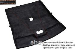 Orange Stitch Roof Headlining Luxe Suede Skin Cover For Nissan Skyline R33 93-98