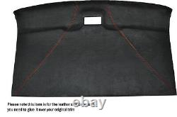 Orange Stitch Roof Lining Headlining Luxe Suede Skin Cover For Vw T4 Transporter