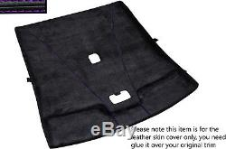 Purple Stitch Roof Headlining Luxe Suede Skin Cover For Nissan Skyline R33 93-98