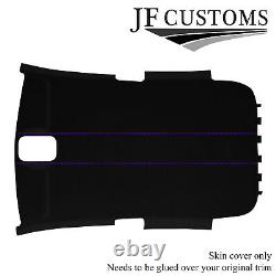 Purple Stitch Suede Roof Lining Headliner Cover For Vw Golf Mk5 V 2003-2009 5dr