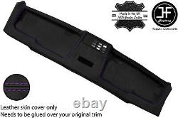 Purple Stitch Top Roof Headliner Panel Leather Cover For Bmw E30 81-92 Sedan