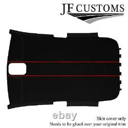 RED STITCH SUEDE ROOF LINING HEADLINER COVER FOR VW GOLF MK5 V 2003-2009 3 door