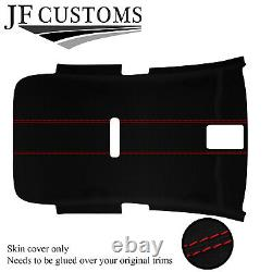 Red Stitch Luxe-suede Non Sunroof Headliner For Vw Golf Mk6 09-14 3 Door