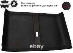 Red Stitch Rear Roof Headlining Luxe Suede Cover For Land Rover Defender 110 Sw
