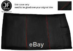 Red Stitch Roof Headlining Luxe Suede Cover For Vw Golf Mk3 91-98 3 Door