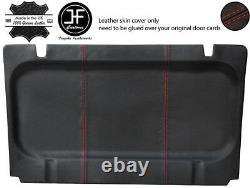 Red Stitch Sun Roof Headlining Liner Leather Cover For Porsche 924 944 81-91