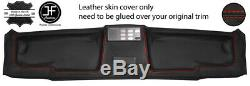 Red Stitch Top Roof Headliner Panel Leather Cover For Bmw E30 81-92 Coupe