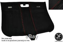 Red Stitching Roof Lining Headlining Luxe Suede Cover For Audi Tt Mk2 06-14