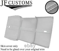 White St 3 Piece Roof Headlining L Grey Luxe Suede Cover For Defender 110 Sw