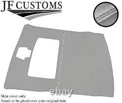 White Stitch Roof Headlining Light Grey Luxe Cover For Ford Sierra Cosworth 3dr
