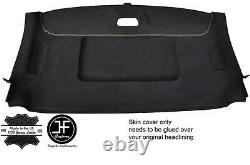 White Stitch Roof Headlining Luxe Suede Cover For Mercedes W639 Vito Viano 04-09